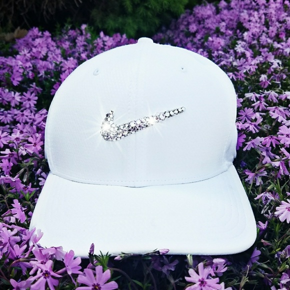 08ea2d9b Nike Accessories | Swarovski Bling Swoosh Legacy Tech Golf Cap ...